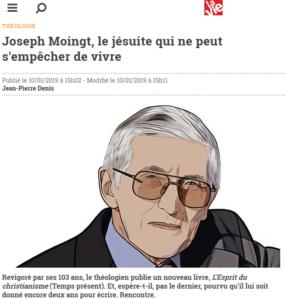 Portrait de Joseph MOINGT dans La Vie